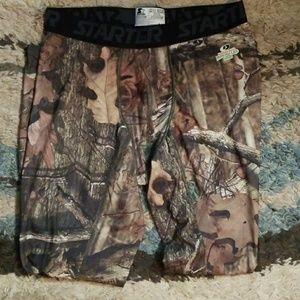 Starter Mossy Oak Compression Pants
